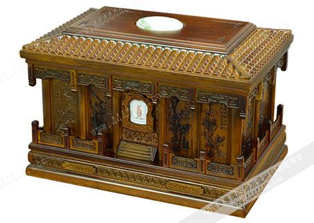 梅兰竹菊6# — 红木骨灰盒