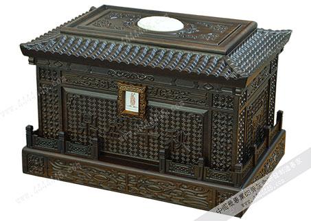 鼎盛千秋A — 檀木骨灰盒
