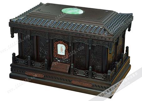 梅兰竹菊B — 红木骨灰盒